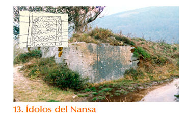 Ídolos rupestres del Nansa